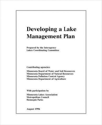 lake management plan example1