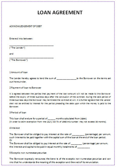 16  sample letter of agreement examples