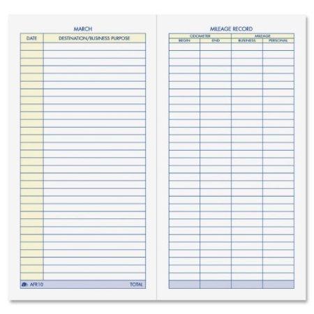 mileage log journal1