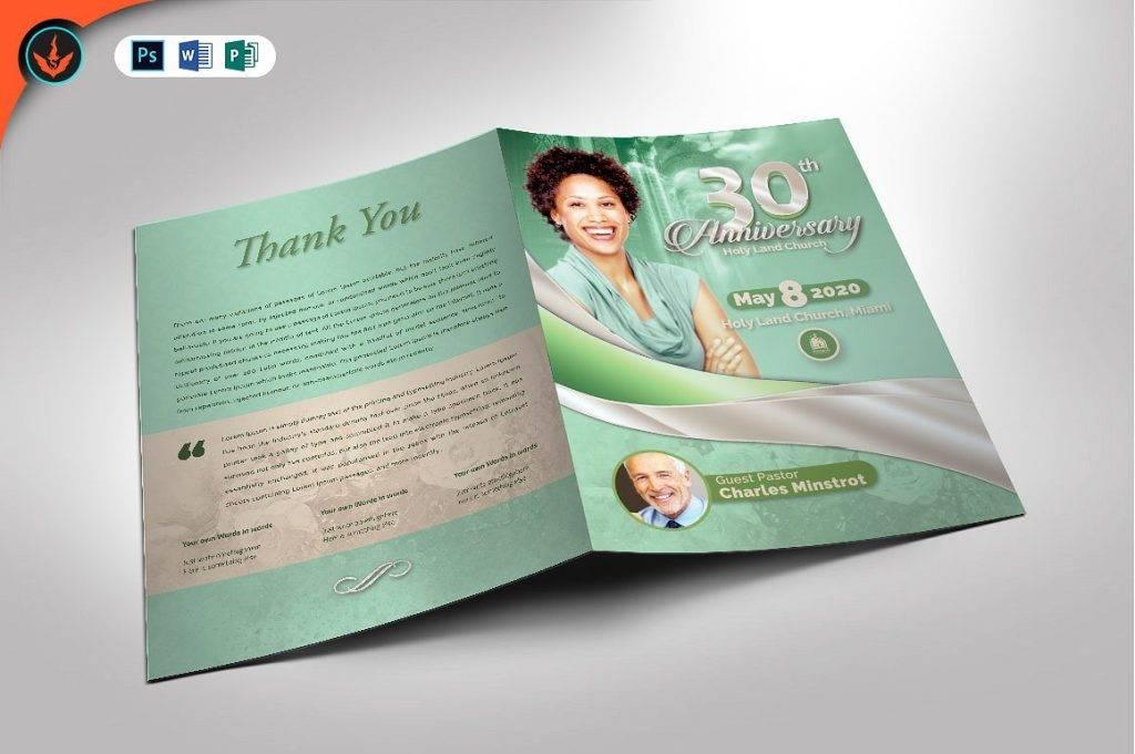 mint green church anniversary announcement example 1024x681