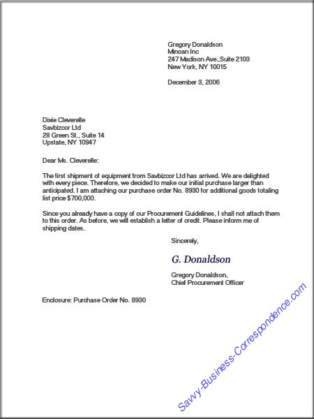 modified business letter example