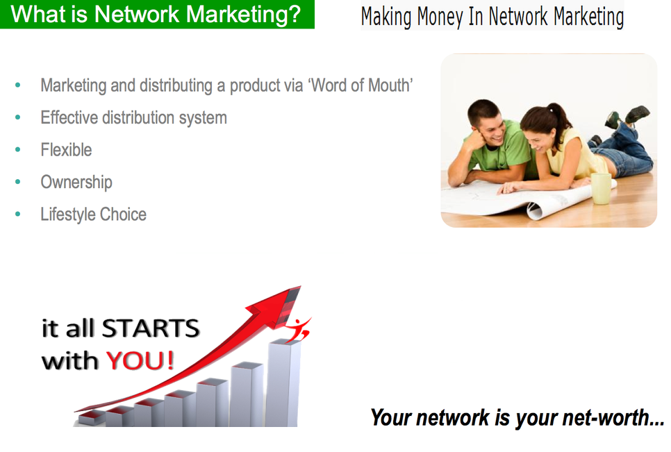 network marketing definition