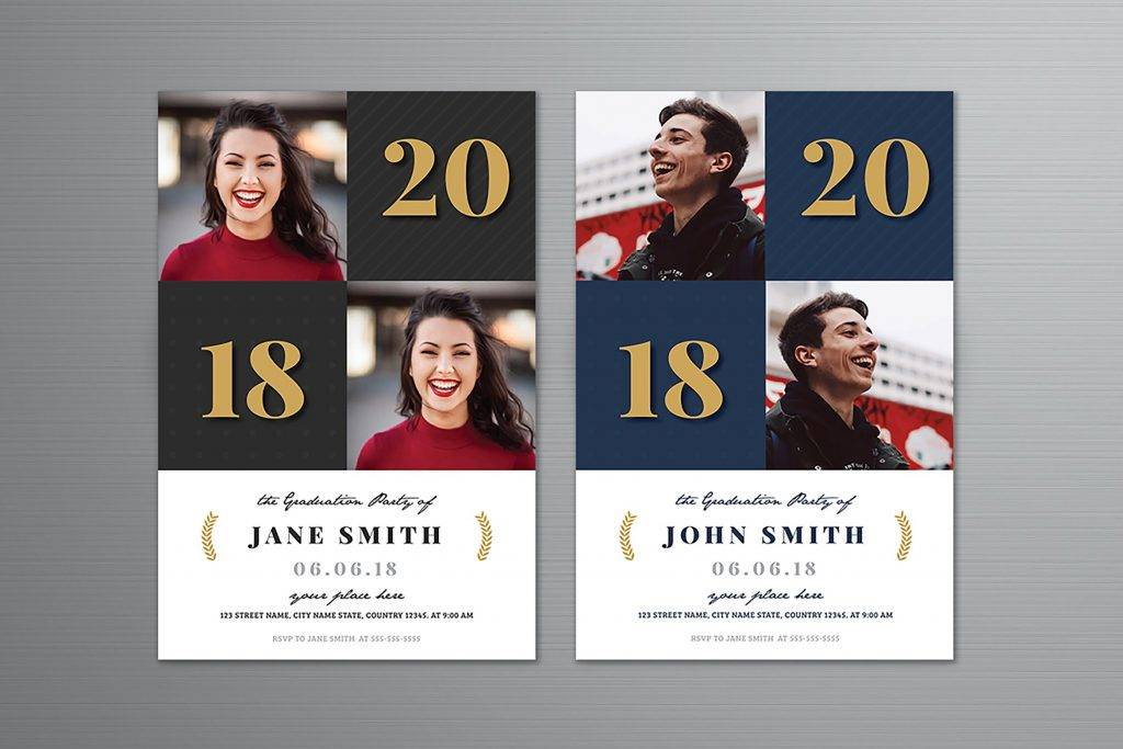 new 2018 graduation announcement example