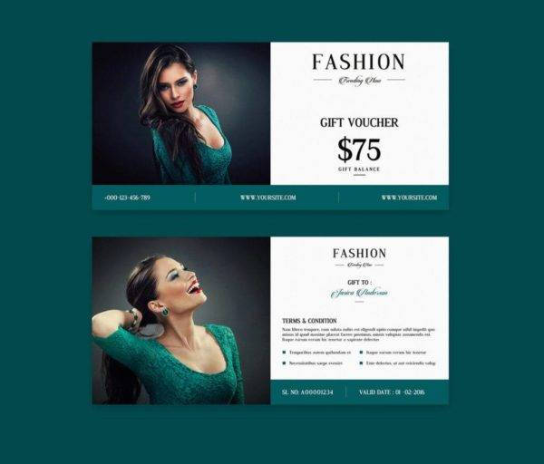 new trending now gift voucher example