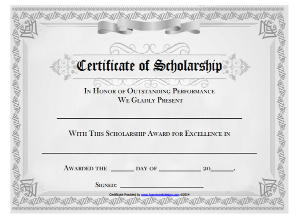 10 scholarship award certificate examples pdf psd ai outstanding scholarship award certificate example yelopaper Image collections