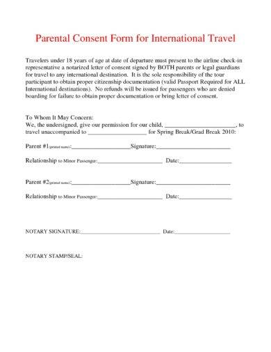 parental consent form for international travel1