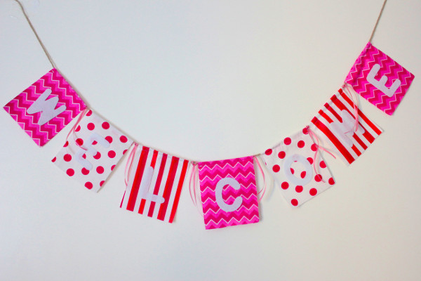 party decor welcome banner example1