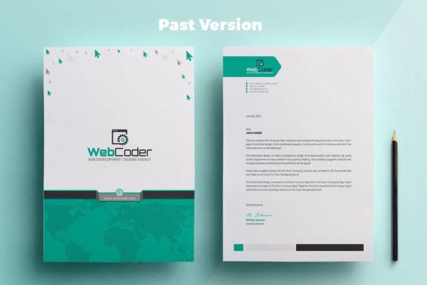 personalized business letterhead example1