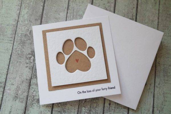pet sympathy greeting card example1