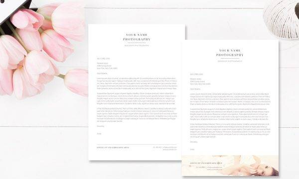photography business letterhead example1