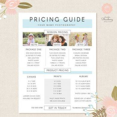 photography pricing list guide1