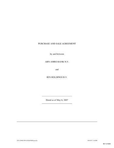 plain stock sale agreement example1
