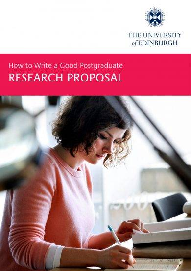 Writing a research proposal for masters