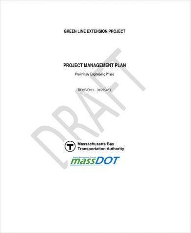preliminary engineering phase project management