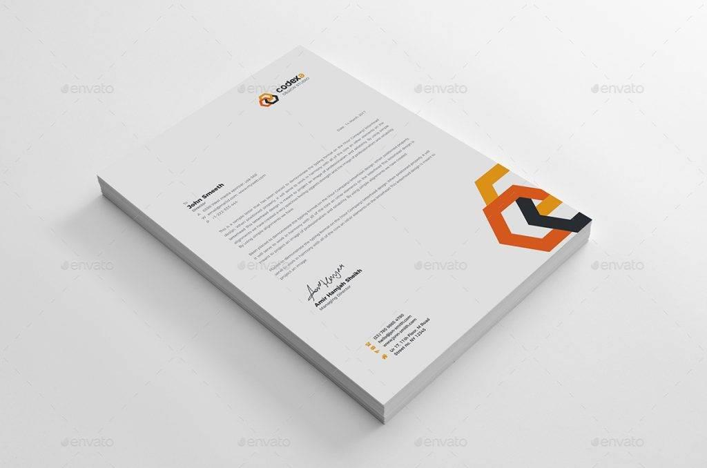 print ready corporate letterhead