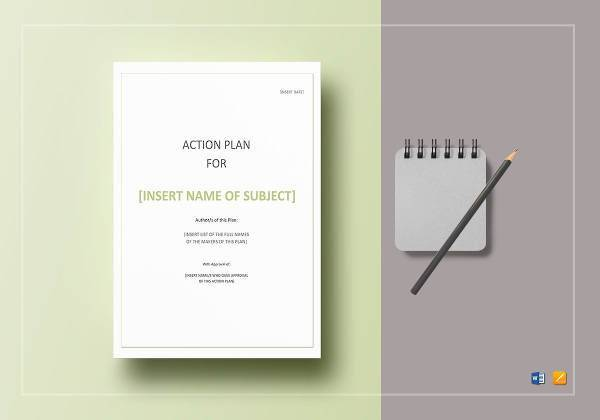 printable action plan template1