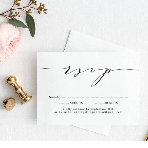 printable wedding rsvp label example1