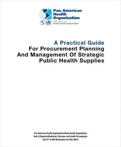 procurement management plan and practical guide example1