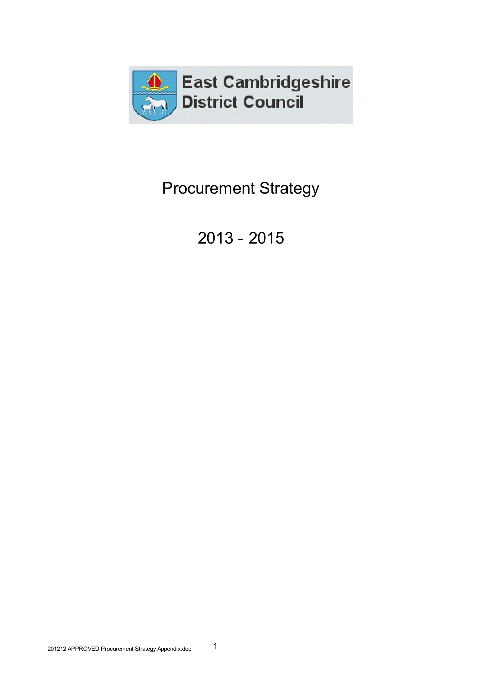 procurement strategy example 01