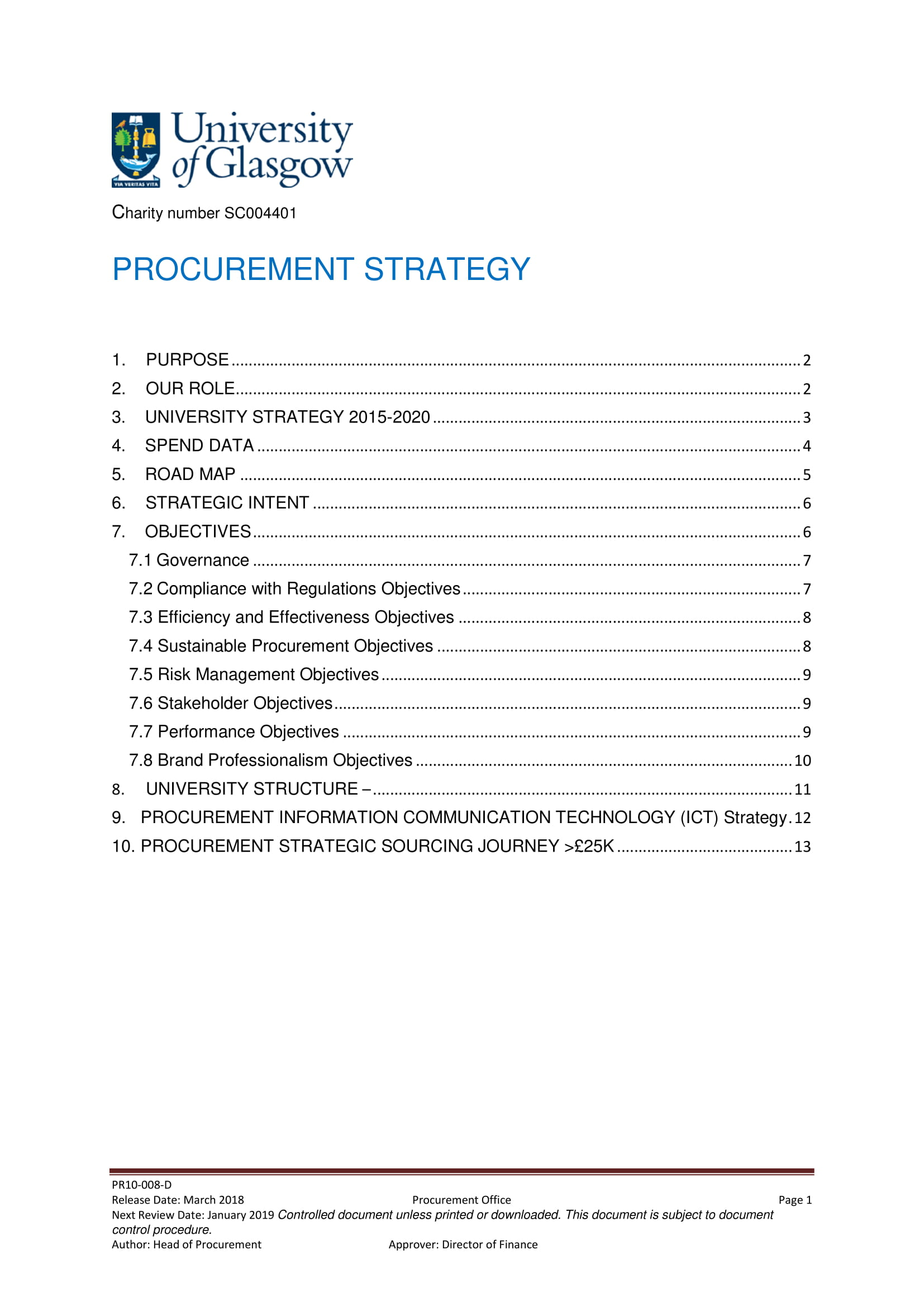 procurement strategy plan example 01