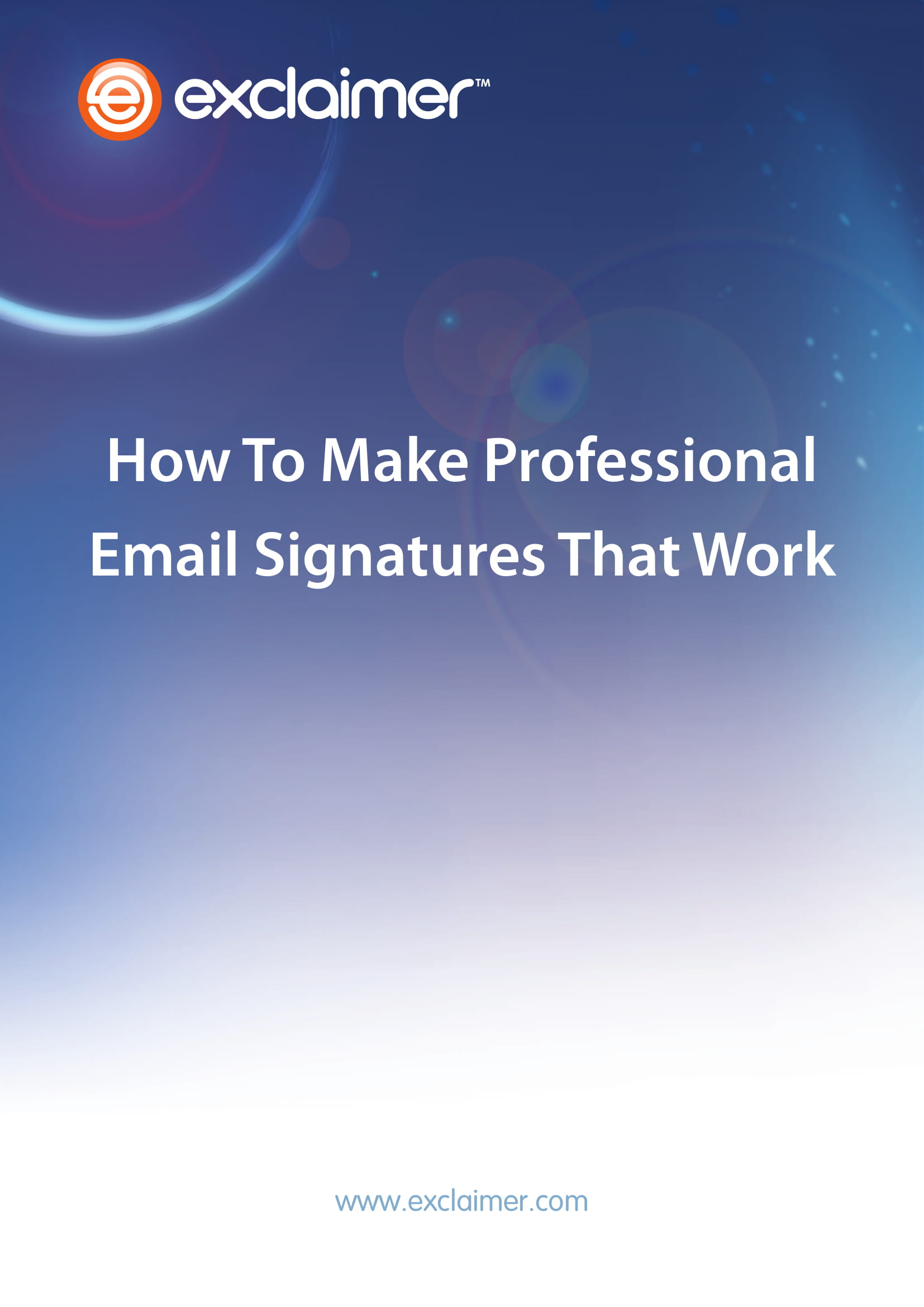 professional email signature example 01