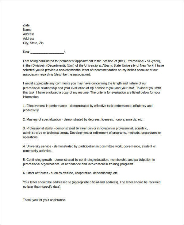 9 reference letter for employment examples pdf professional reference letter for employment example expocarfo Images