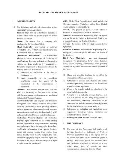 21 Professional Services Agreement Examples Pdf Word