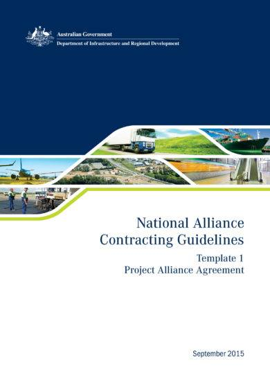 project alliance agreement example