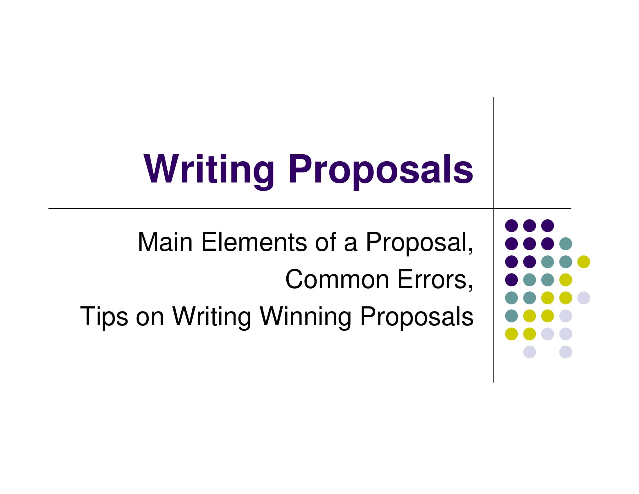 proposal writing guidelines example 01