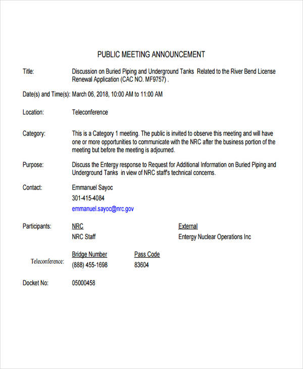 public meeting announcement1