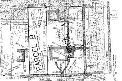 residential land parcel example