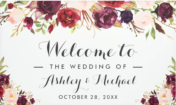 rustic floral bridal shower banner example e1528773667715