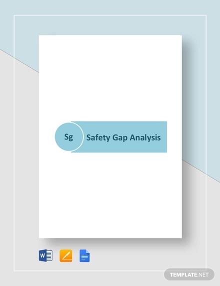 safety gap analysis