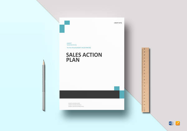 sales action plan example