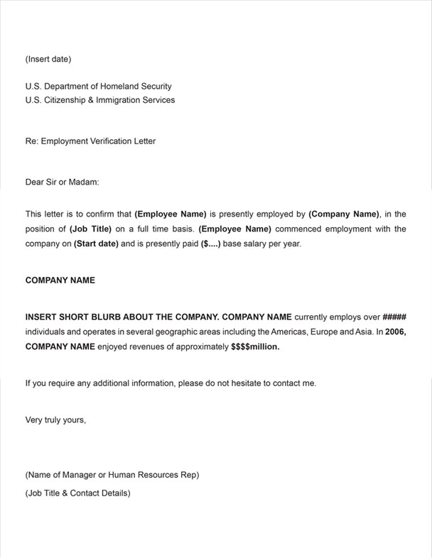 11 Employee Verification Letter Examples Pdf Word
