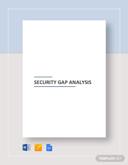 security gap analysis