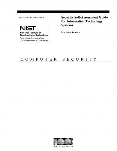 security self assessment guide for it systems example