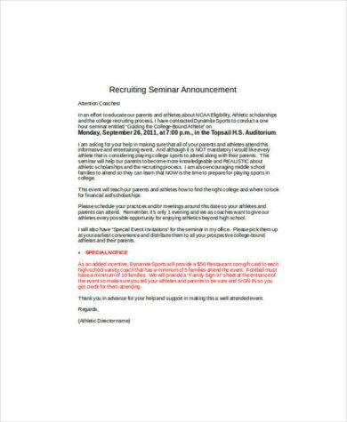seminar announcement email1