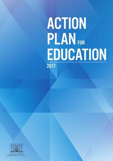 simple action plan for education example1