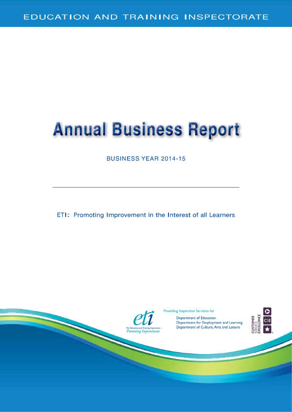 simple annual business report example1