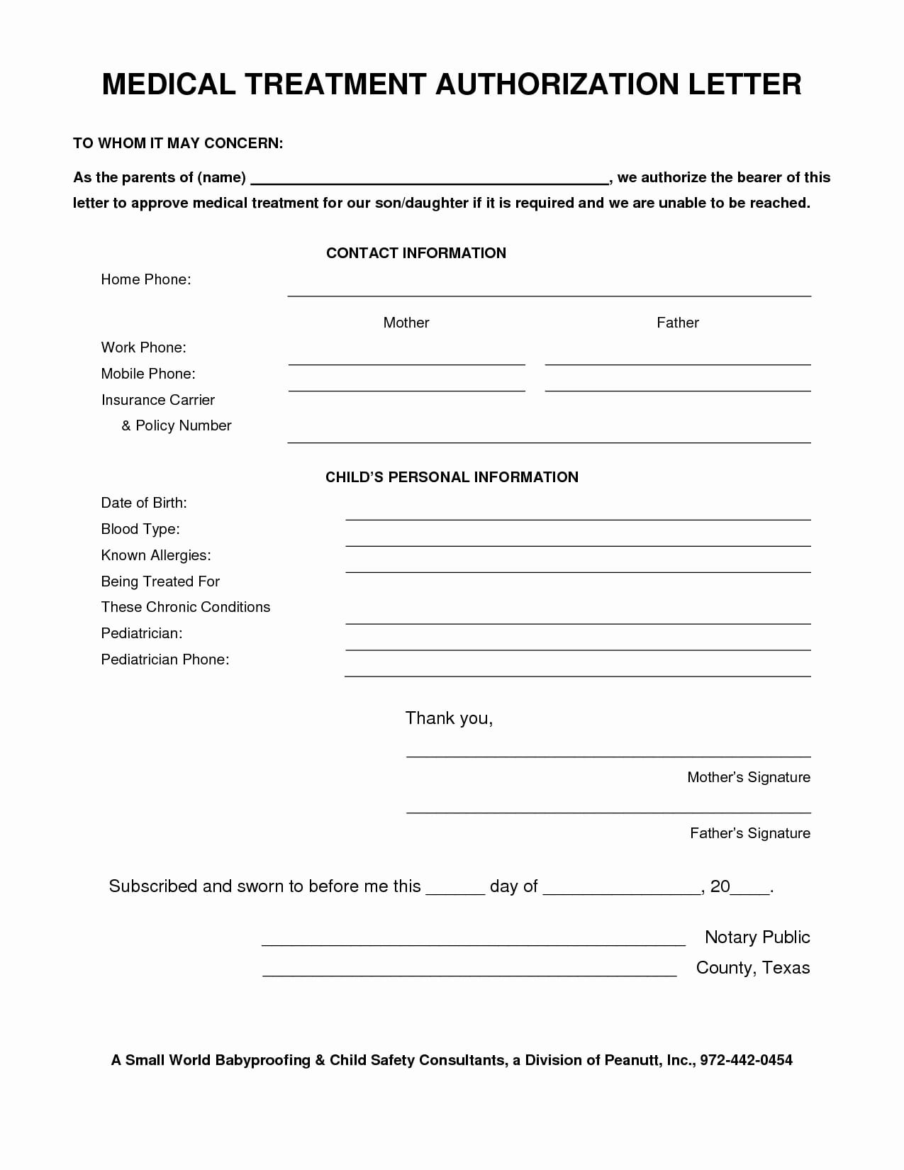 9 medical authorization letter examples pdf