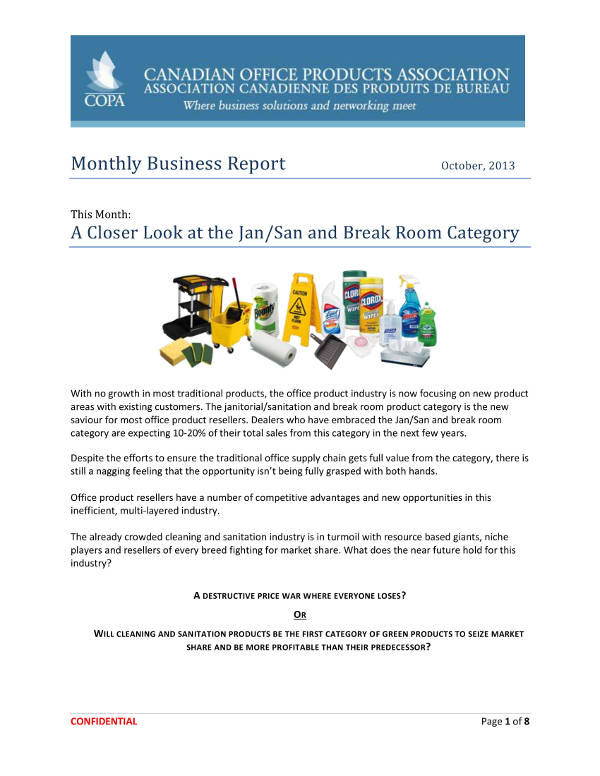 simple monthly business report example1