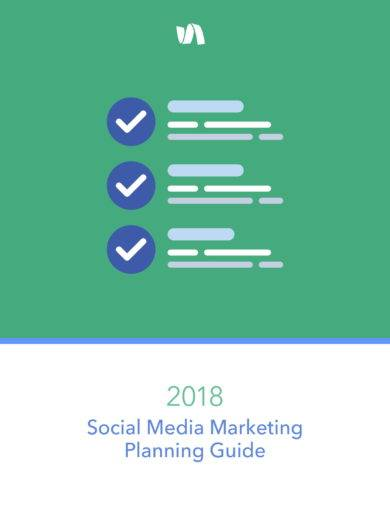social media marketing planning guide with strategies example