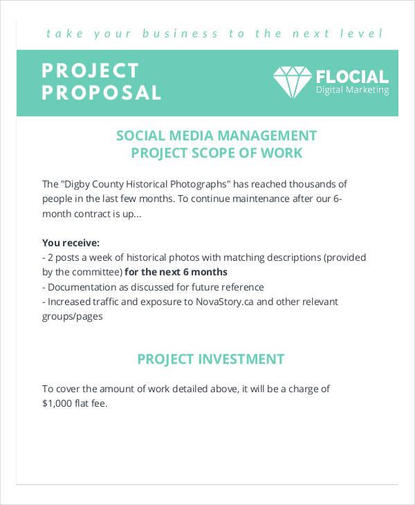 10  social media proposal examples  u0026 samples in pdf  word