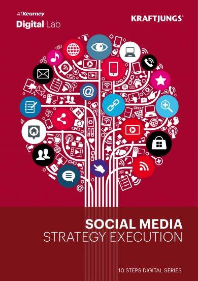 social media strategy execution of plan example
