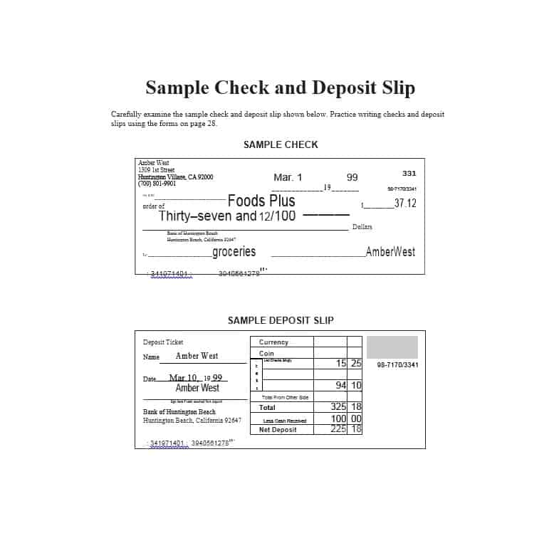 withdrawal slip template - 10 deposit slip examples and templates pdf doc