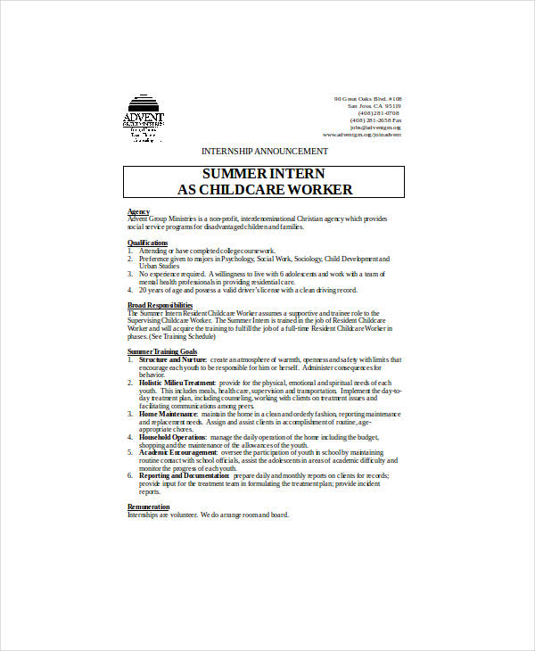 10+ Staff Announcement Examples - PDF, Doc | Examples