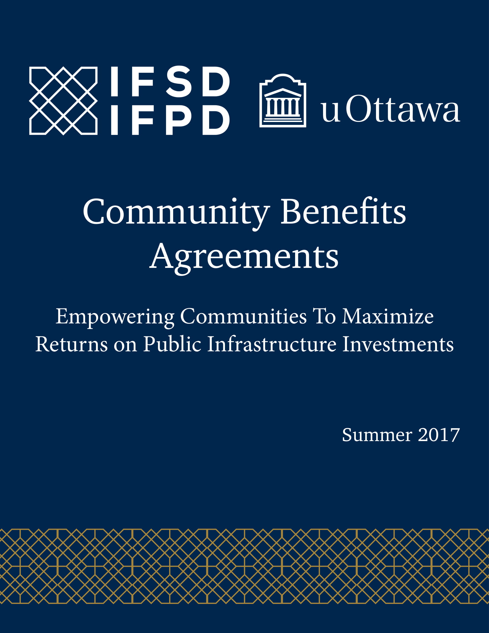 standard community benefits agreement example