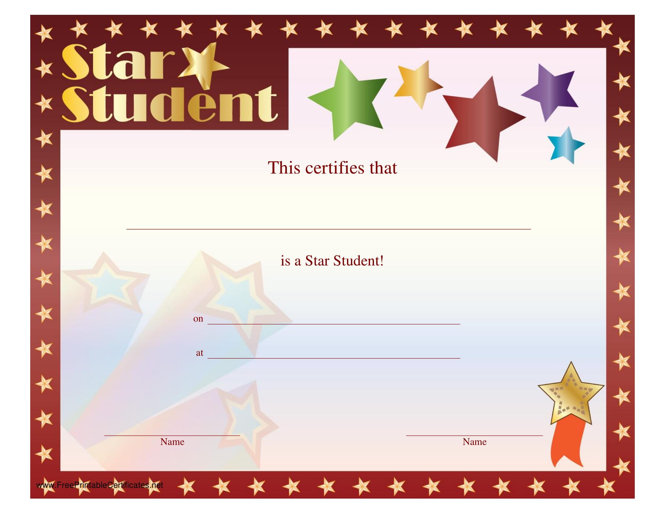 9  blank award certificate examples