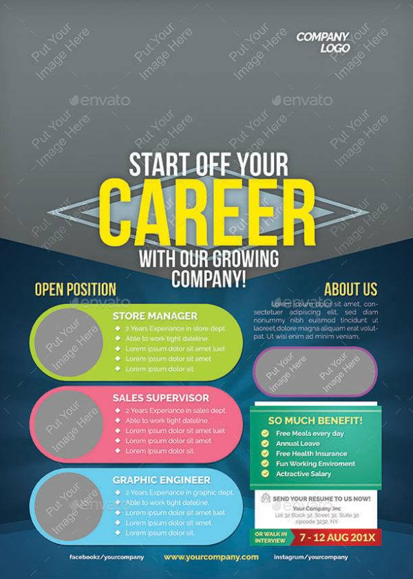 start of your career job announcement example1